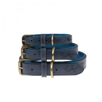 Blaues Hundehalsband, 3 Größen
