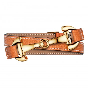 Trensenarmband in Orange