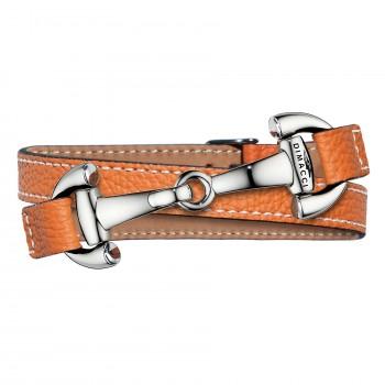 Trensenarmband in Orange