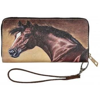 Geldbörse, Pferdekopf