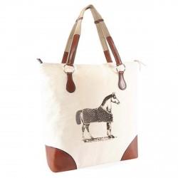 """Tote Bag """"Burghley"""", ecru"""