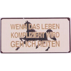 "Kühlschrank-Magnet ""Wenn..."
