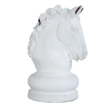 Große Pferdekopf Skulptur