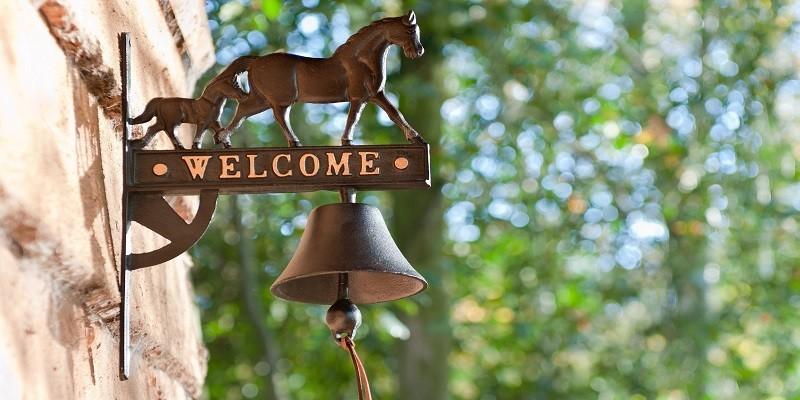 Pferdeaccessoires für Haus, Hof & Garten. Perfekte Reitergeschenke
